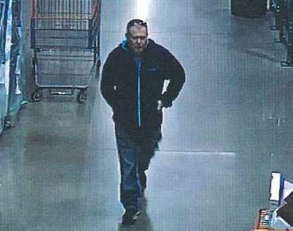 Costco theft suspect picture