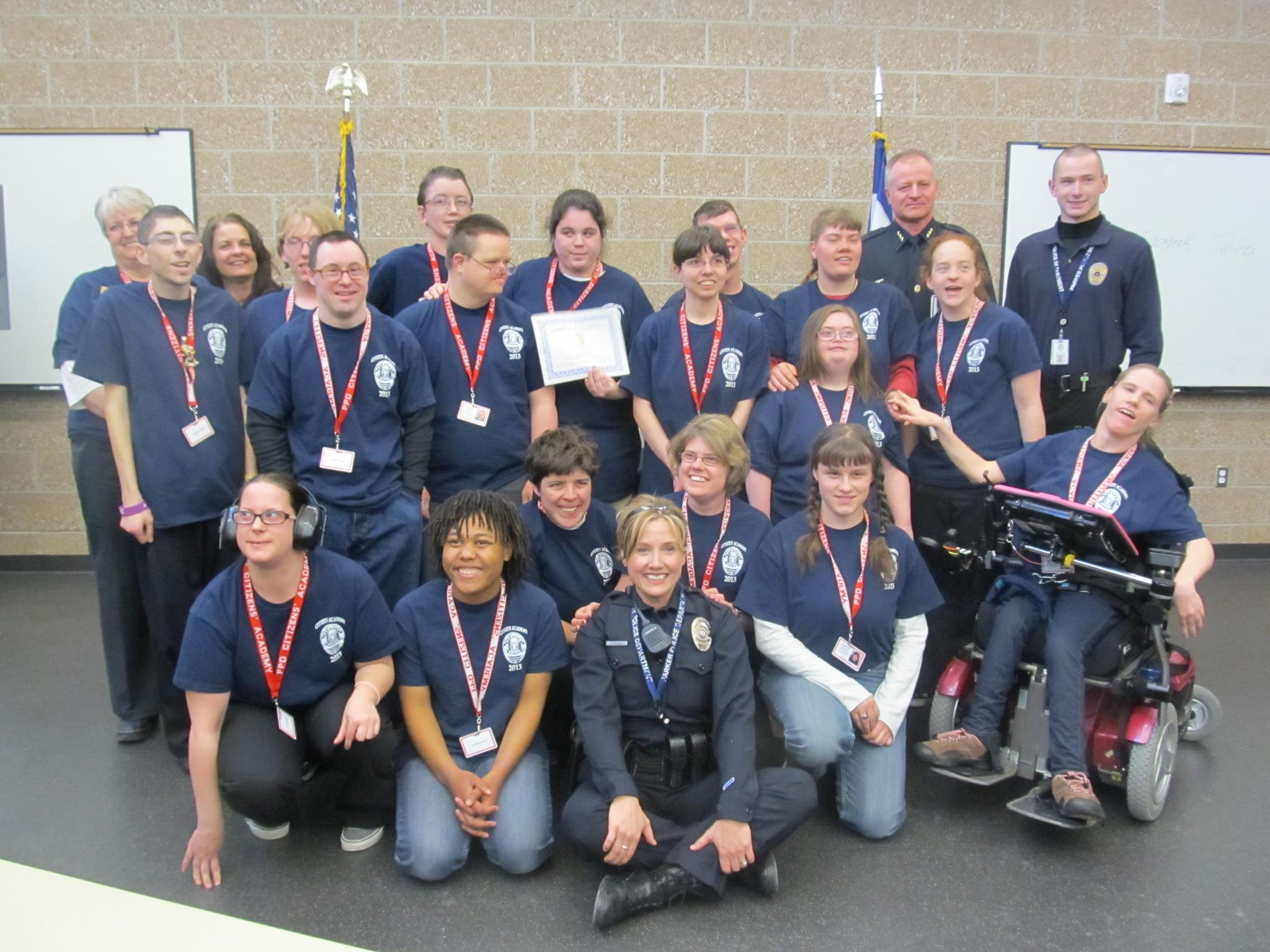 Citizen Academy group photo